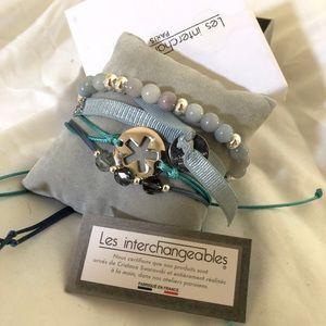 Bracelets French brand with Swarovski